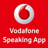Vodafone Speaking App icon