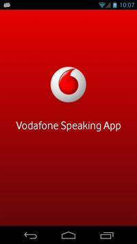 Vodafone Speaking App poster