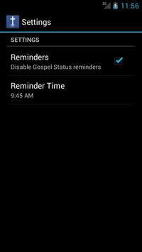 Gospel Status apk screenshot