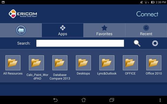 Ericom Connect Mobile Client apk screenshot