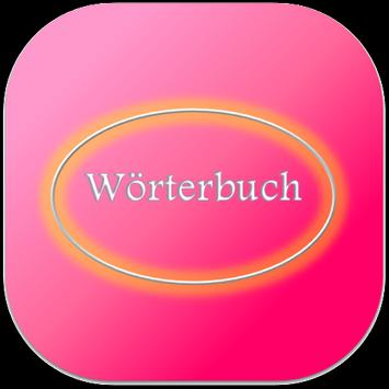 Germany Dictionary|Wörterbuch poster