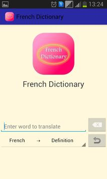 French Dictionary|Dictionnaire apk screenshot