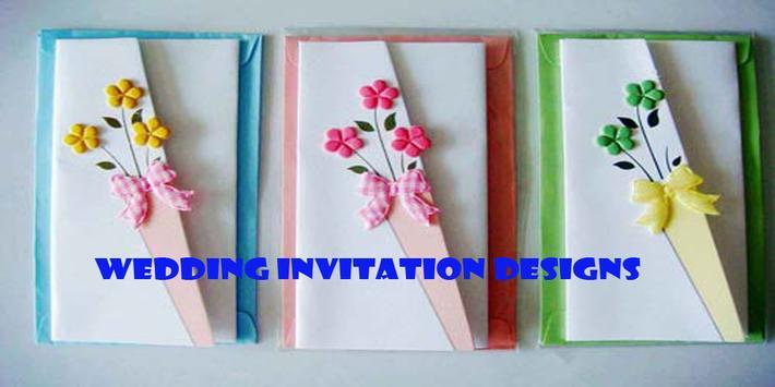 Wedding Invitation Designs poster