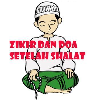 Zikir Dan Doa Setelah Shalat poster