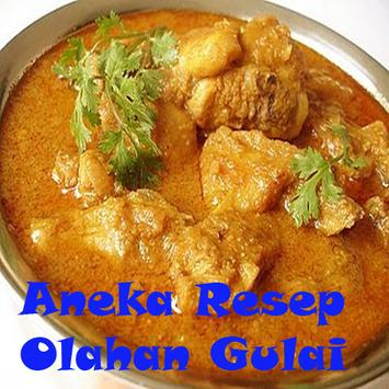 Aneka Resep Olahan Gulai poster