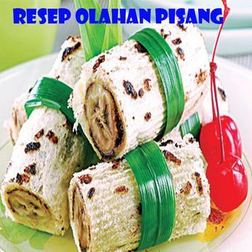 Resep Olahan Pisang poster
