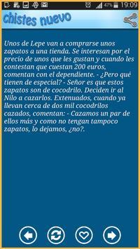 Chistes Nuevo apk screenshot