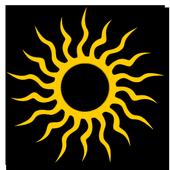 3D Tribal Sun Live Wallpaper icon