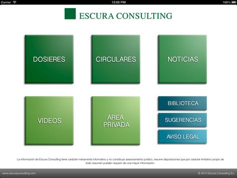 Escura Consulting poster
