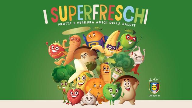 Lidl I Superfreschi poster