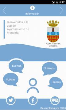 App Ayuntamiento Moncofa poster