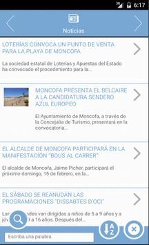 App Ayuntamiento Moncofa apk screenshot