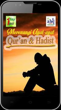 Merenungi Ayat Quran & Hadist poster