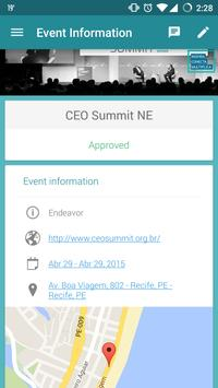 CEO Summit - Endeavor poster