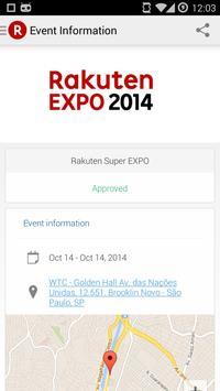 Rakuten EXPO apk screenshot