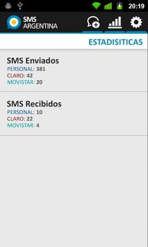 SMS Gratis Argentina apk screenshot