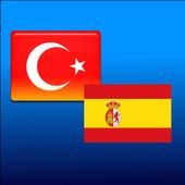 Spanish-Turkish translator icon