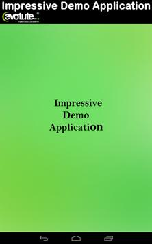 Evolute Impress Demo App poster