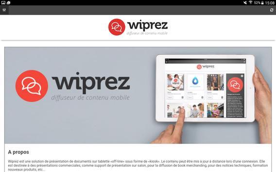 WiPrez poster