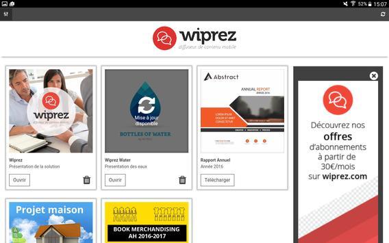 WiPrez apk screenshot