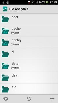 File Analytics apk screenshot