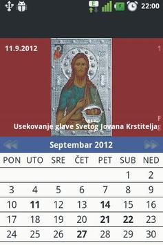 Pravoslavni Kalendar poster