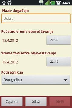 Pravoslavni Kalendar apk screenshot