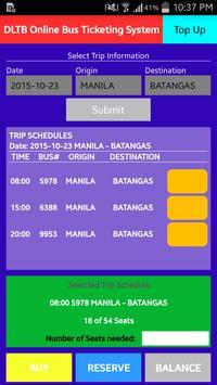 DLTB Online Bus Ticketing apk screenshot