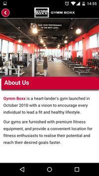 Gymm Boxx apk screenshot