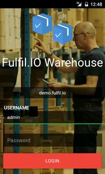 Warehouse & Inventory Manager poster