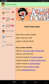 Fumetteria Akiba apk screenshot
