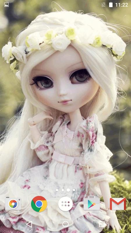 cute Dolls Live Wallpaper APK Download - Free ...