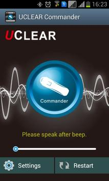 UCLEAR Commander poster
