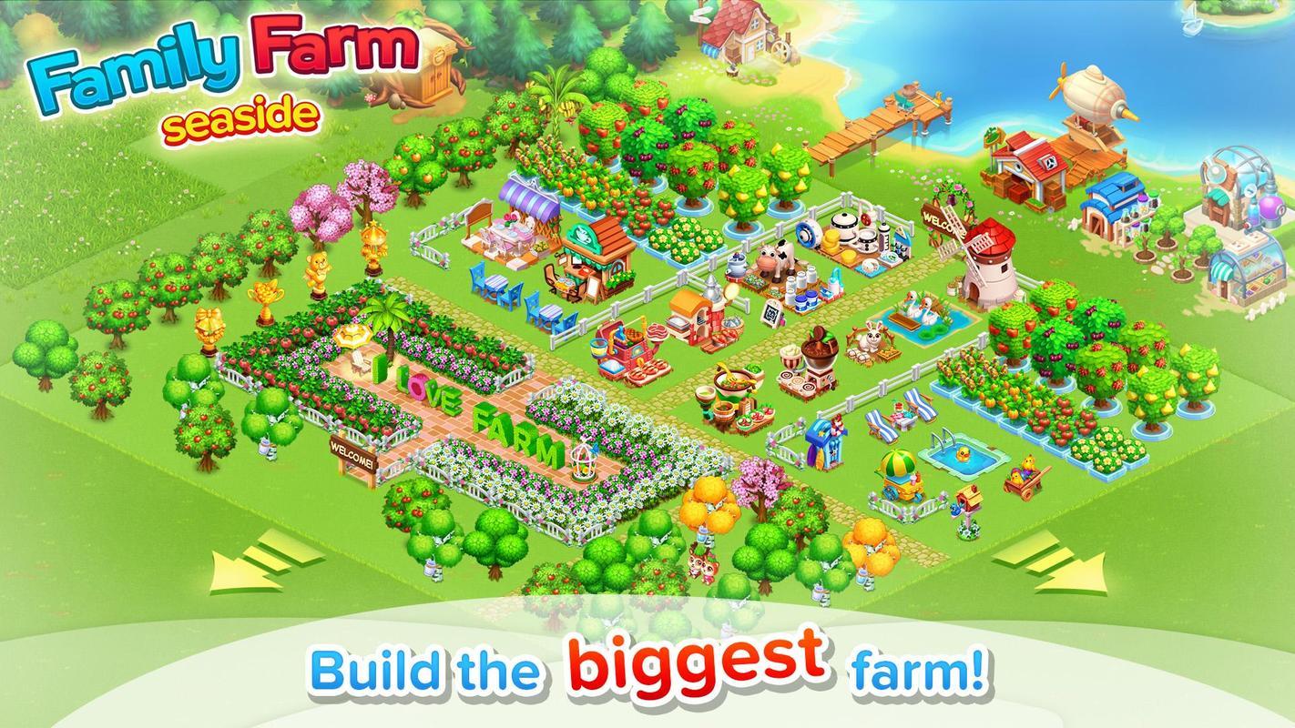 Family Farm Seaside APK Download - Free Casual GAME for ...  Family Farm Sea...