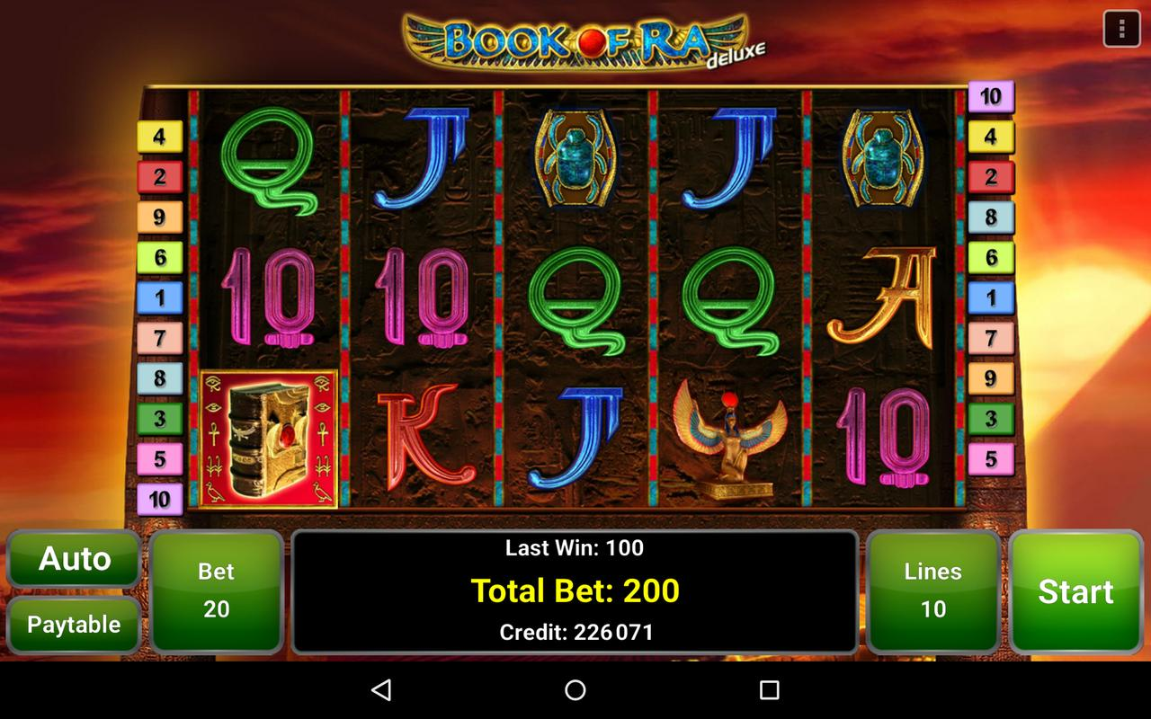 book of ra slot game download