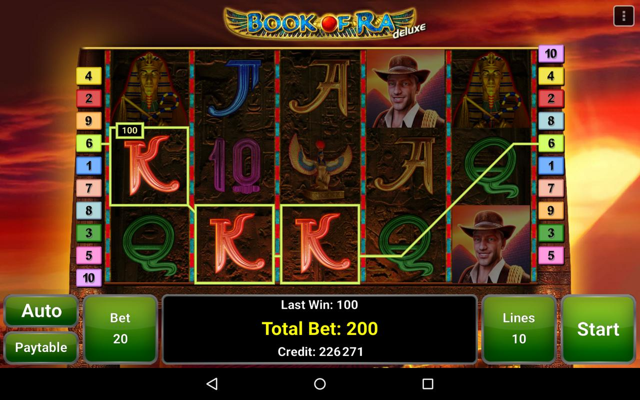 book of ra deluxe casino game