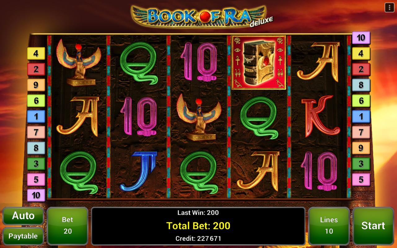 book of ra apk free
