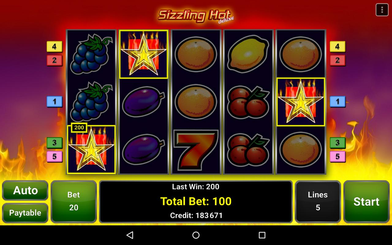 sizzling hot online casino  android