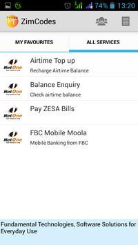 ZimCodes apk screenshot