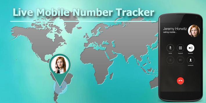 Live Mobile Number Tracker poster
