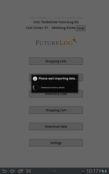 FutureLog WebShop apk screenshot