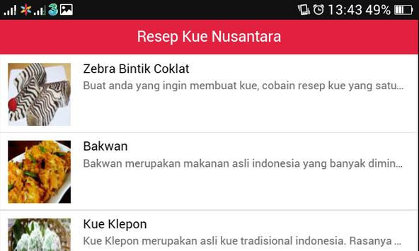 Resep Masakan Nusantara Baru apk screenshot