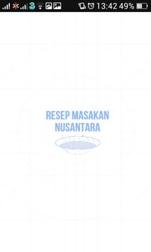 Resep Masakan Nusantara Baru poster