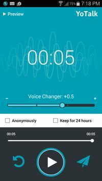 YoTalk - Voice Messenger apk screenshot