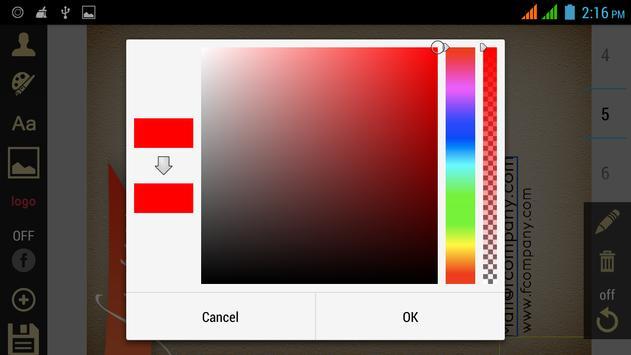 Business Card Designer apk screenshot