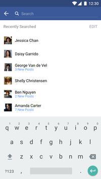 Facebook apk screenshot