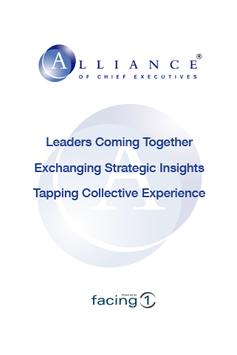 Alliance of Chief Executives poster