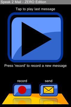 speak2mail - ZERO Edition poster