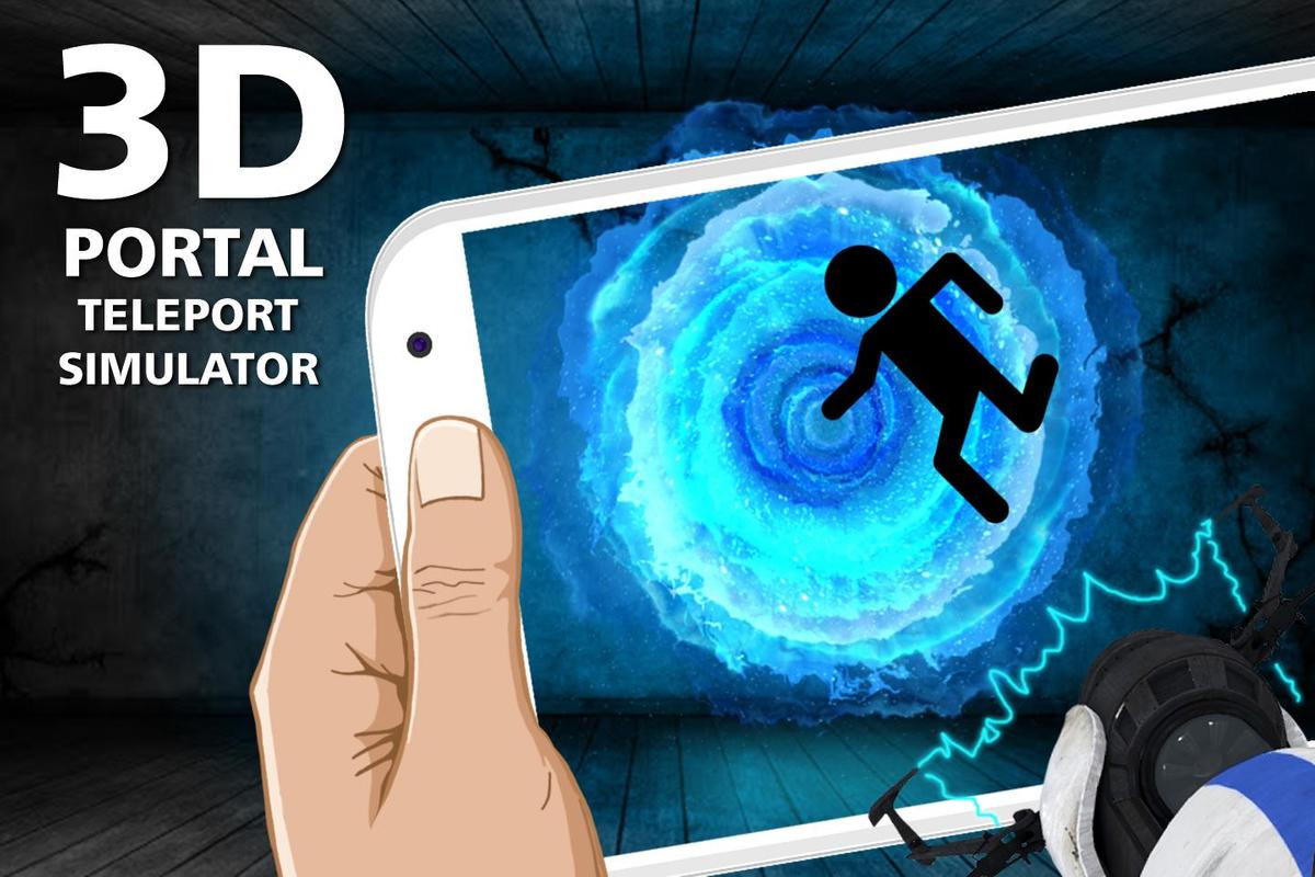 3d portal teleport simulator apk download free for Simulatore 3d