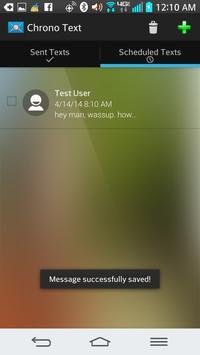 Chrono Text apk screenshot